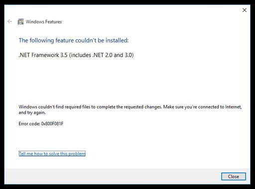 Cara Install .Net Framework 3.5 Offline - Oka bRionZ